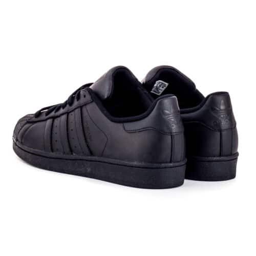new style 5179f beb97 Adidas Superstar Foundation Black