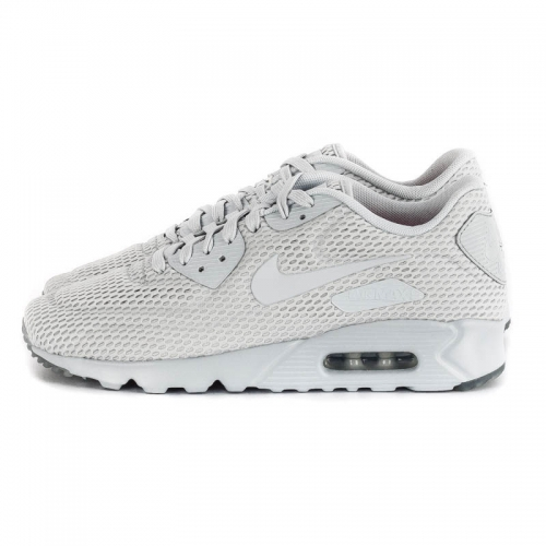 "reputable site 6136b 931a4 Nike ""Air Max 90 Ultra Breathe"". Platina Vit"