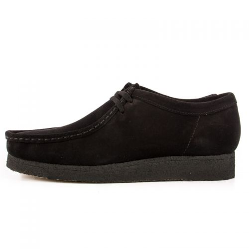premium selection 775f5 a75a6 Clarks Wallabee. Black