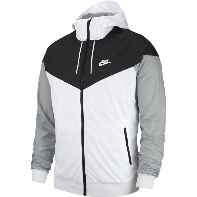 Nike Windrunner Jacket. WhiteBlack | Impala Streetwear