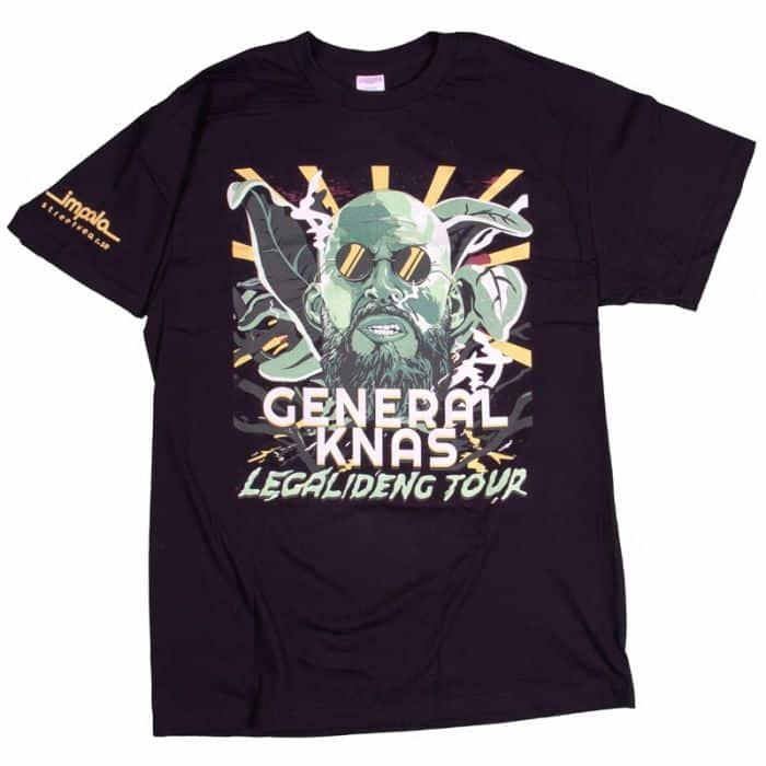 General Knas Legalideng Tour T-shirt