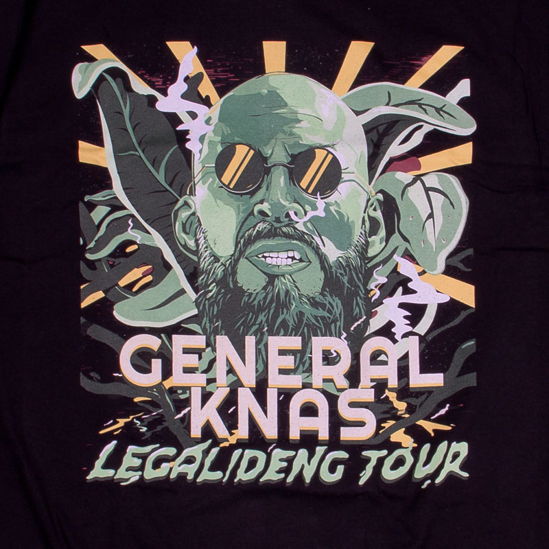 General Knas Legalideng Tour T-shirt