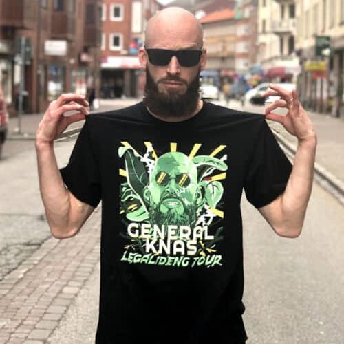 General Knas Legalideng Tour T-shirt.
