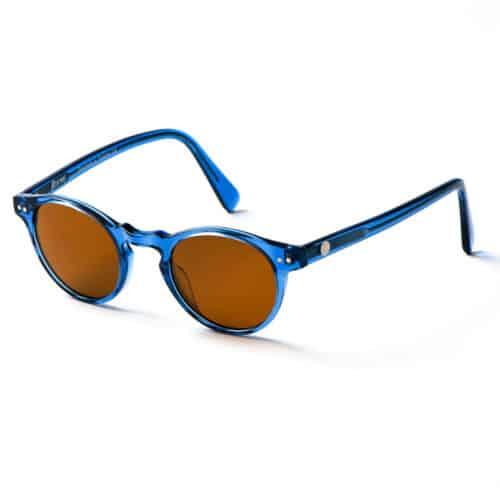 Beatnik solglasögon i färgen Acid Blue
