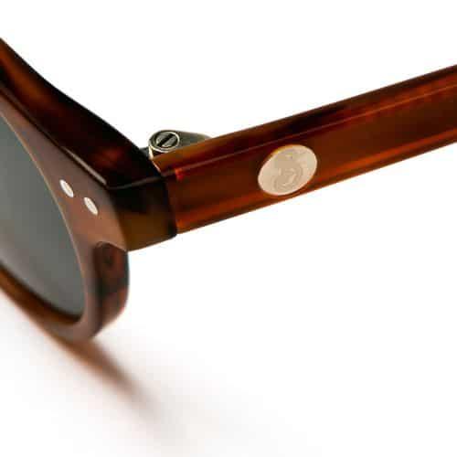 Beatnik solglasögon i Marockansk brun.