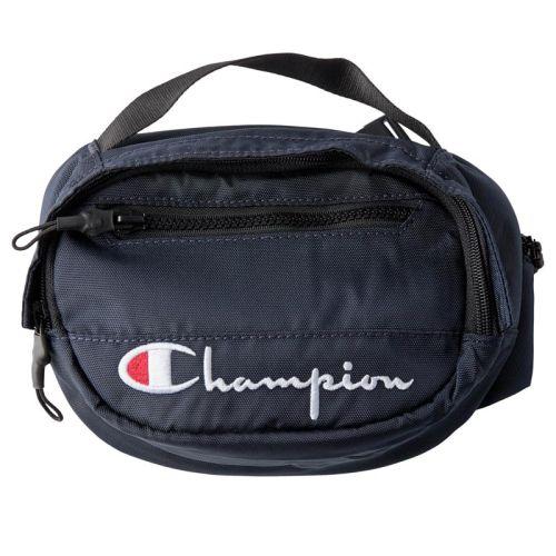 Champion Script Hip Bag, Navy.