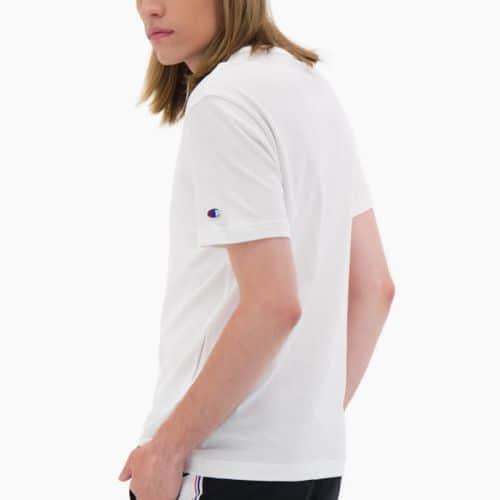 Champion T-shirt Logo Arm, White.