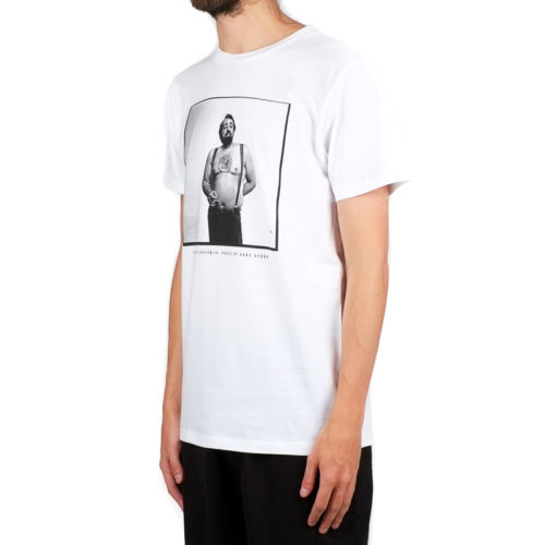 Dedicated Cornelis T-shirt, White.