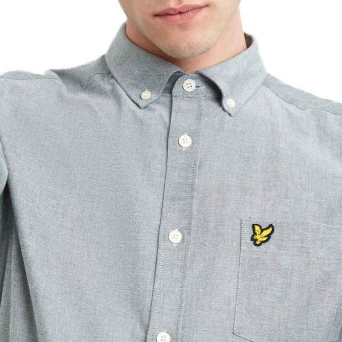 Lyle & Scott Shirt Oxford, Jade Green.