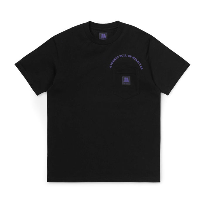 Carhartt Motown Pocket T-shirt, Black.