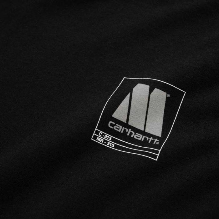Carhartt Motown Orderform Tee, Black.