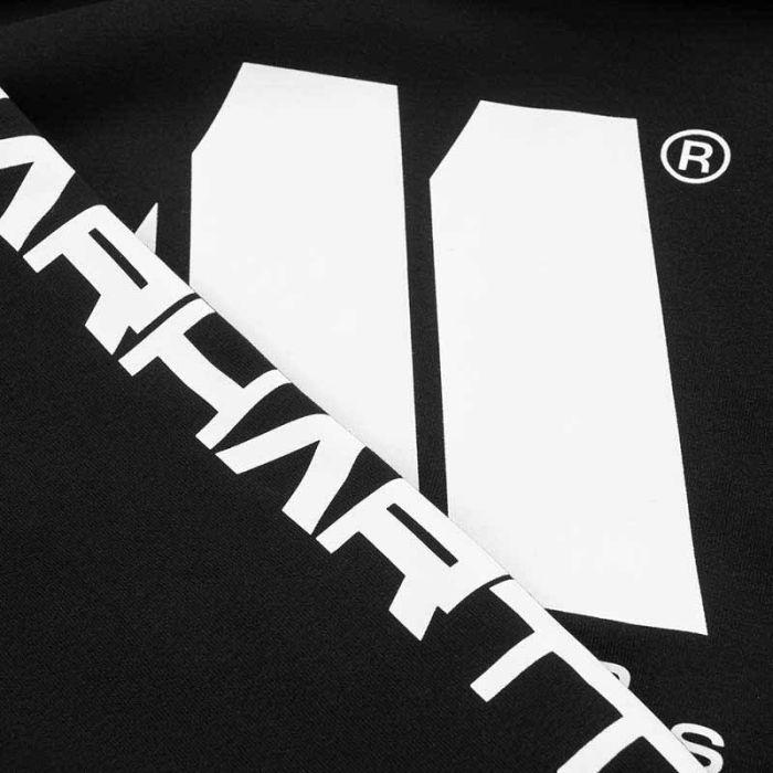 Carhartt WIP x Motown Hoodie, Black.