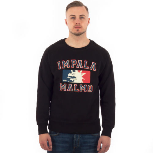 Impala Malmö NBA Premium Sweatshirt, Black.